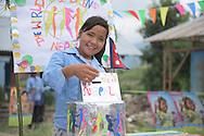 Phulmaya&rsquo;s home and school were destroyed in the big earthquake in Nepal. Today, she is a WCP Child Rights Ambassador. Here, she casts her ballot in the Global Vote. <br /> <br /> <br /> <br /> Sve: Phulmayas hem och skola f&ouml;rst&ouml;rdes i den stora jordb&auml;vningen i Nepal. Hon trodde att han skulle missa WCP 2015, men tidningen Globen kom fram till byn. Privatpersoner och skolor i Sverige har bidragit till &aring;teruppbyggnaden. Sj&auml;lv &auml;r Phulmaya numer en WCP-barnr&auml;ttsambassad&ouml;r &ndash; h&auml;r r&ouml;star hon i v&auml;rldsomr&ouml;stningen Global Vote.