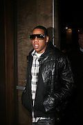 """Jay Z pictured at the cocktail party celebrating Sean """"Diddy"""" Combs appearance on the """" Black on Black """" cover of L'Uomo Vogue's October Music Issue"""