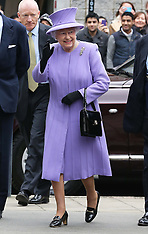 FEB 27 2013 The Queen at National Bowel Centre in London