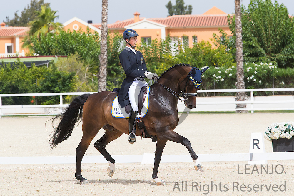 Ludwig Wilken - Capo Knight<br /> European Championships Dressage 2016<br /> &copy; DigiShots