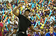 Usain Bolt at Boys and Girls Highschool Champs in Kingston Jamaica March'11