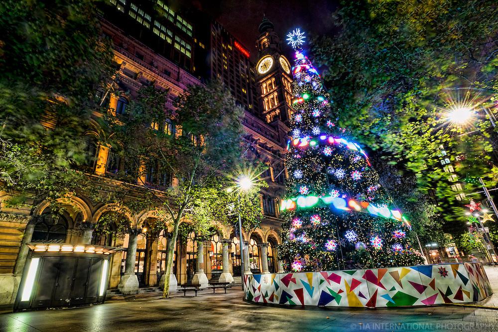 Sydney's City Christmas Tree, Martin Place