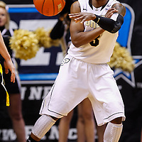 WEST LAFAYETTE, IN - JANUARY 27: Ronnie Johnson #3 of the Purdue Boilermakers passes the ball during the game against the Iowa Hawkeyes at Mackey Arena on January 27, 2013 in West Lafayette, Indiana. Purdue defeated Iowa 65-62 in overtime. (Photo by Michael Hickey/Getty Images) *** Local Caption *** Ronnie Johnson