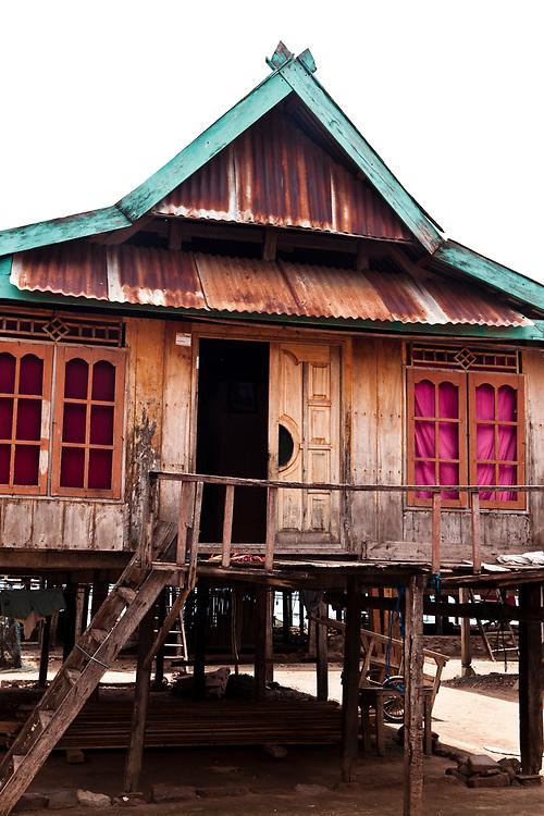 Fshing village located on Komodo Island.