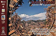 Cover and back page photo for Biodiversidad, Sustento y Culturas magazine.