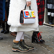 Boots and Bag, Outside Ulla Johnson FW2017