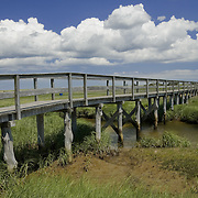 The Pochet Bridge leads to the outer beach in East Orleans.
