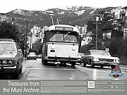 Trolley Coaches in the Snow | February 5, 1976