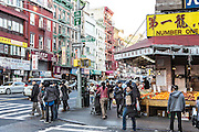 East Broadway in New York's Chinatown