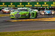 #45 Flying Lizard Motorsports Audi R8: Nic Jonsson, Pierre Kaffer, Tracy Krohn, Christopher Haase