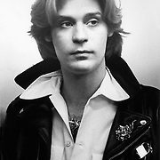 Daryl Hall backstage at the Palladium in December, 1977
