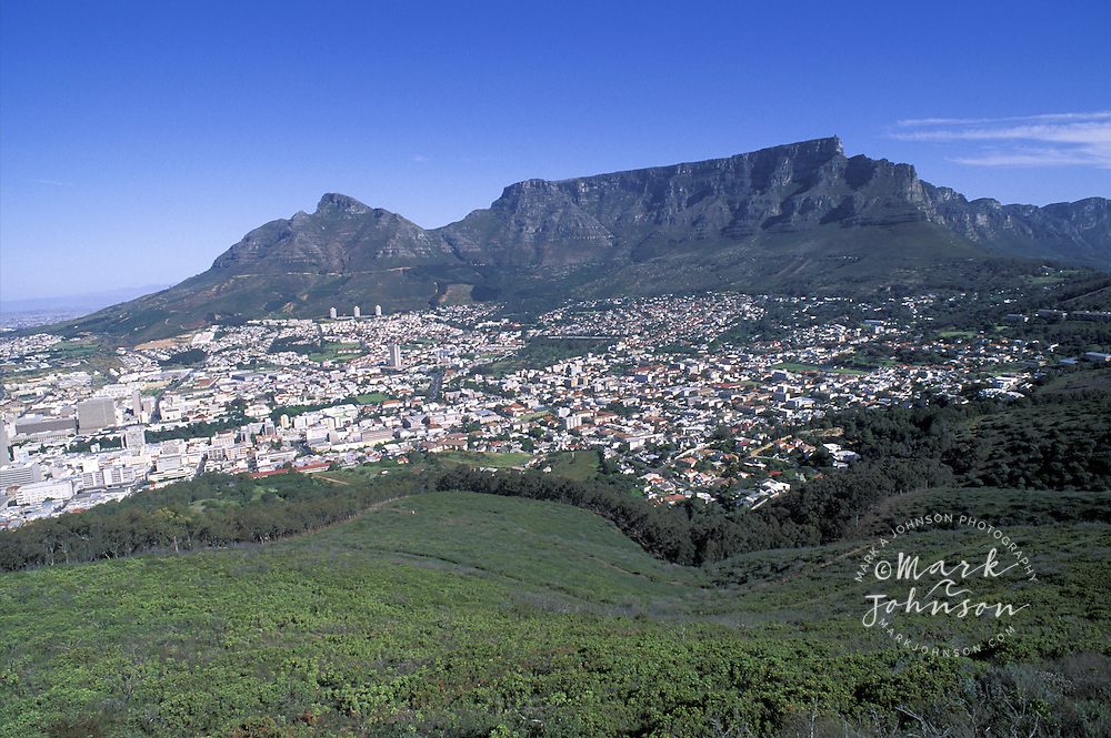 Cape Town & Table Mountain, South Africa