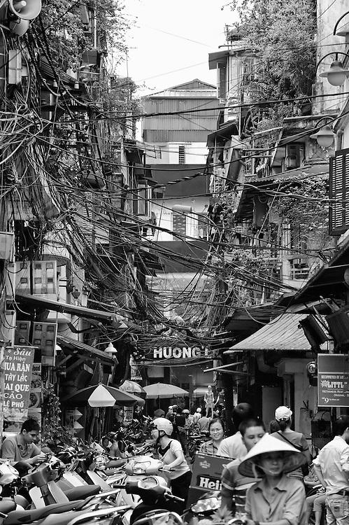 Old Hanoi, Vietnam.