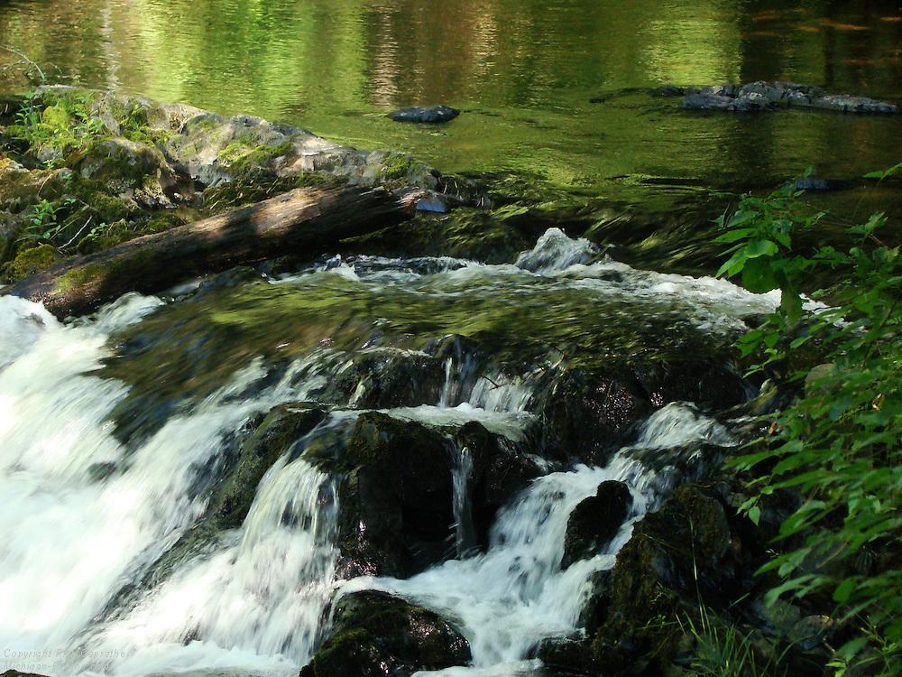 O-Kun-De-Kun Falls, Ontonagon,  Michigan's Upper Peninsula