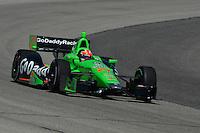 James Hinchcliffe, Milwaukee IndyFest, Milwaukee Mile, West Allis, WI USA 06/15/13