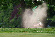 30 MAY 2009: Bronson Burgoon of Texas A & M hit out othe the trap at the NCAA Division 1 golf Championship Finals Match Play at the Inverness Golf Club, Toledo, Ohio.
