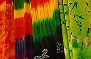 Image of colorful textiles in Cabo San Lucas, Baja California Sur, Mexico