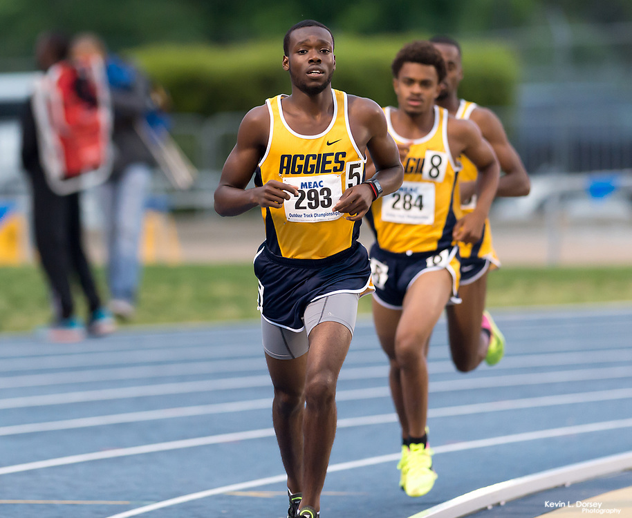 2017 MEAC Outdoor Track & Field Championships (Day 1) \ - Photo by: Kevin L. Dorsey
