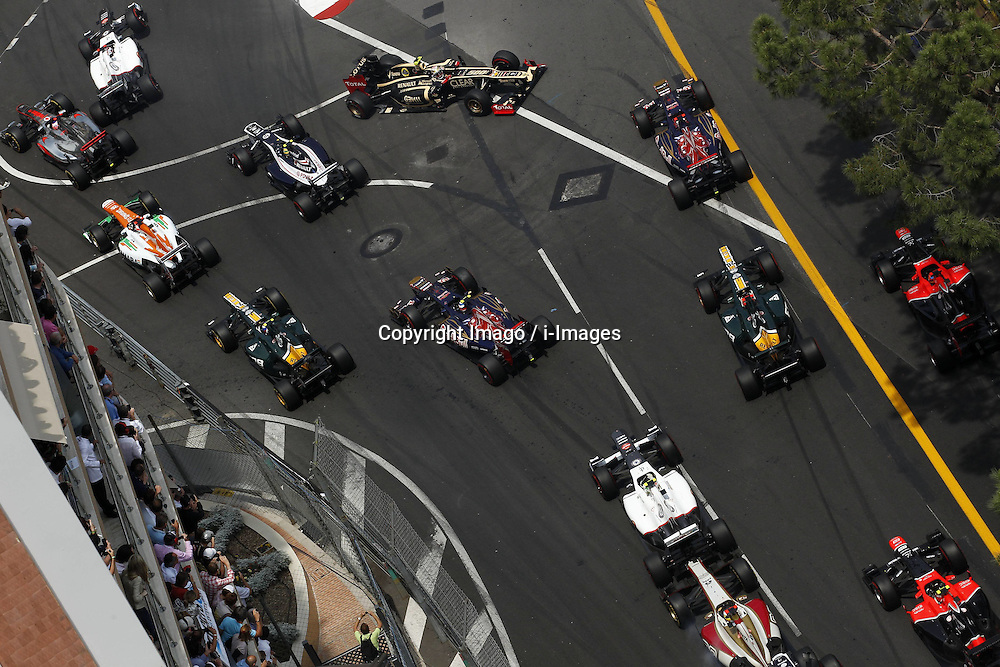 Monaco Grand Prix, Sunday, 27th May 2012.   Photo by: Imago / i-Images