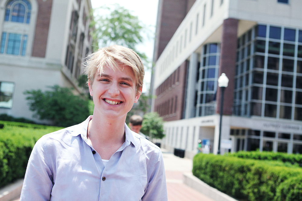 """James Fry '09..""""Go to office hours to get to know your professors."""""""
