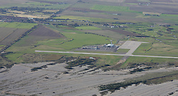 Image &copy;Licensed to i-Images Picture Agency. Aerial views. United Kingdom.<br /> Manston airport, Kent. Picture by i-Images