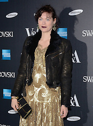 Jasmine Guinness attends Alexander McQueen: Savage Beauty VIP private view at The Victoria and Albert Museum, Cromwell Road, London on Saturday 14 March 2015