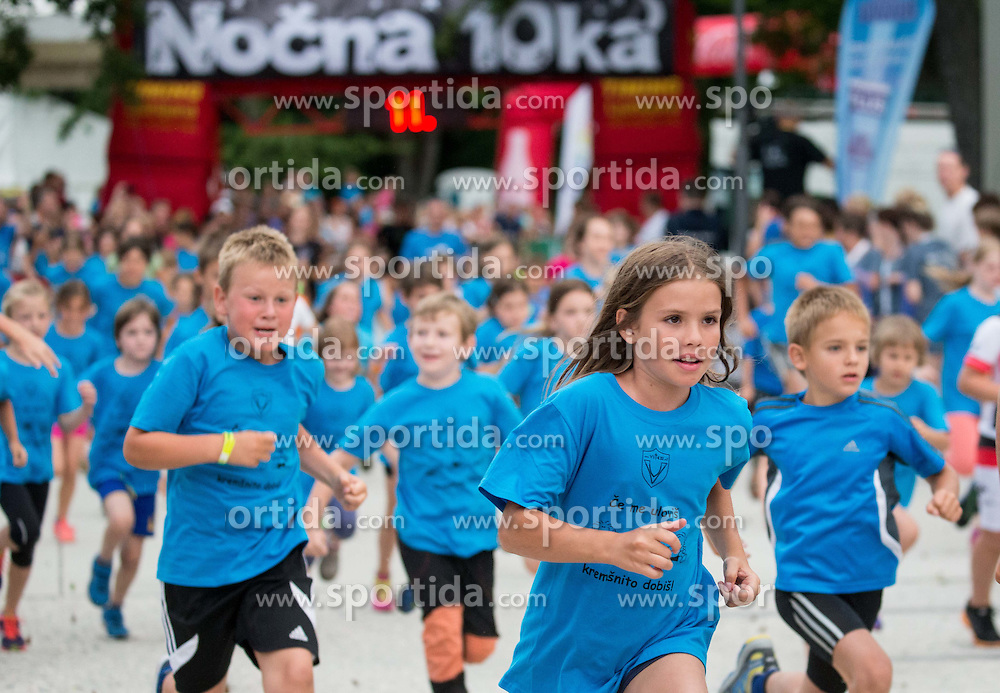 Nocna 10ka 2015, traditional running around Bled's lake, on July 11, 2015 in Bled,  Slovenia. Photo by Vid Ponikvar / Sportida