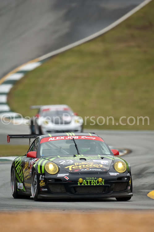 #23 Alex Job Racing Porsche 911 GT3 Cup: Bill Sweedler, Romeo Kapudija, Jan-Dirk Leuders