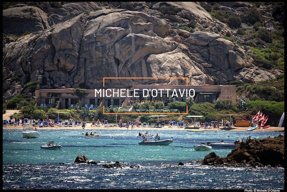 Sardegna villaggio Valtur sull'isola di Santo Stefano