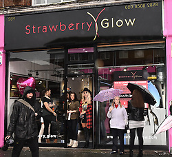 The relaunch of Strawberry Glow, the Essex beauty and tanning salon, held at Strawberry Glow, 289 High Road, Loughton on Saturday 12 November