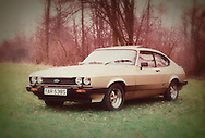 Ford Capri 3 Litre Sport Car - 1985