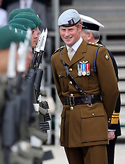 AUG 02 2013 Prince Harry visits Royal Marines in Plymouth