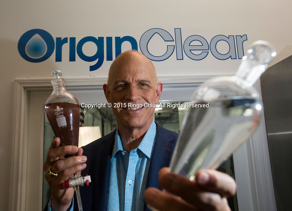 Riggs Eckelberry, CEO, OriginClear.<br /> Photo by Ringo Chiu/PHOTOFORMULA.com)