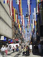 Stockholm, shopping street, Sweden, Drottningsgatan