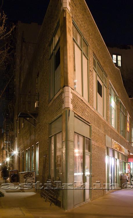 Corner of the building