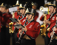 Lafayette High Band plays during Lafayette High vs. Senatobia at LHS in Oxford, Miss. on Friday, October 8, 2010. Lafayette won 54-7.