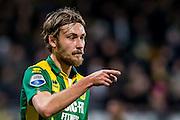 DEN HAAG - ADO Den Haag - Vitesse , Voetbal , Eredivisie , Seizoen 2016/2017 , Kyocera Stadion , 03-02-2017 , ADO Den Haag speler Tom Trybull