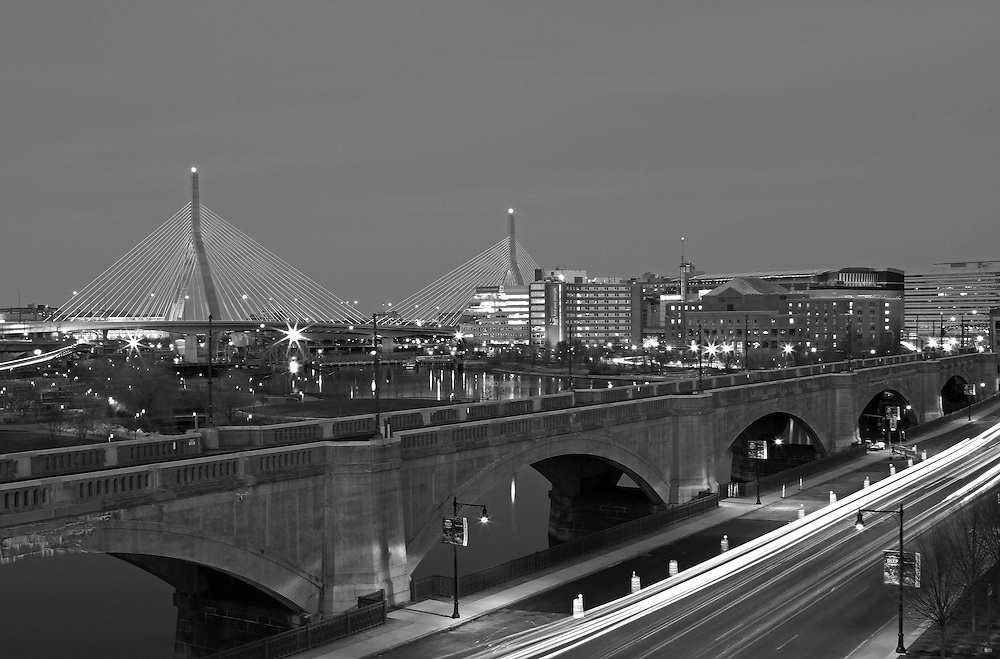 Photo prints, canvas prints, metal prints, framed prints, matted prints, print only at <br /> <br /> http://juergen-roth.pixels.com/featured/1-boston-zakim-bridge-juergen-roth.html