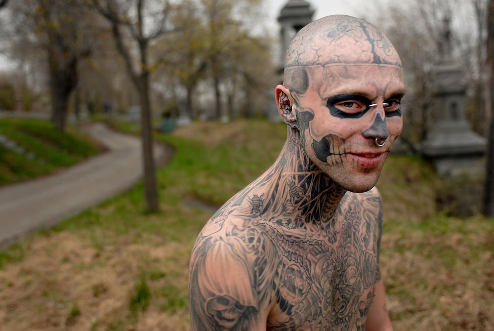 Rick Zombie Boy.
