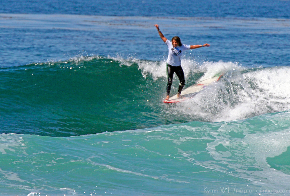 Chelsea Williams, 3rd Place finalist winner of the the 3rd Annual Roxy Jam Linda Benson Women's World Longboard Professional, 2008, Cardiff by the Sea, California.