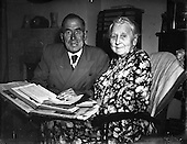 1952 Mrs. Clara A Luger and her son Mr. Edward A. Luger in Ballymun