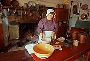 ILLINOIS, LINCOLN SITES Rutledge Tavern in New Salem Village