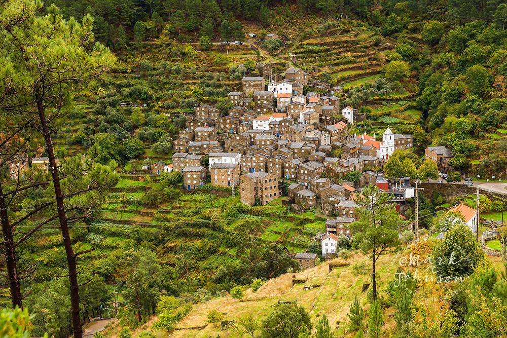 The stone village of Piodão, Portugal