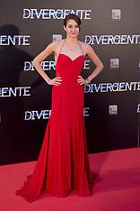 APR 03 2014 Premiere of Divergent in Madrid