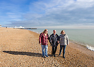 EMBARGOED 00:01 Wednesday 22nd February; 2017.<br /> <br /> Residents and staff from Chestnut View care home visiting the seafront in Southsea, Hampshire. They are amongst the first of 100,000s of old and vulnerable people to enjoy new Out and About excursions after Oomph! announces nationwide expansion plans today (Wednesday 22nd February).<br /> Out and About tackles a lack of outings for people in care settings due to social care funding cuts. Innovative model offers economies of scale on excursion planning, transport and conductors across care settings in an area.<br /> 80 Out and About minibuses will hit the road in first year thanks to &pound;1.5million investment from Mike Parsons, Care and Wellbeing Fund and Nesta Impact Investments.<br /> Photograph by Christopher Ison &copy;<br /> 07544044177<br /> chris@christopherison.com<br /> www.christopherison.com