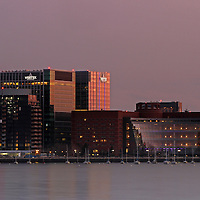 Boston cityscape photography pictures of the John Joseph Moakley U.S. Courthouse and Vertex Pharmaceuticals Headquarter in the Boston Seaport District are available as museum quality photography prints, canvas prints, acrylic prints or metal prints. Prints may be framed and matted to the individual liking and decorating needs:<br />