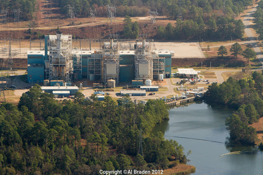 Sam Gideon natural gas plant in Bastrop, TX owned by LCRA