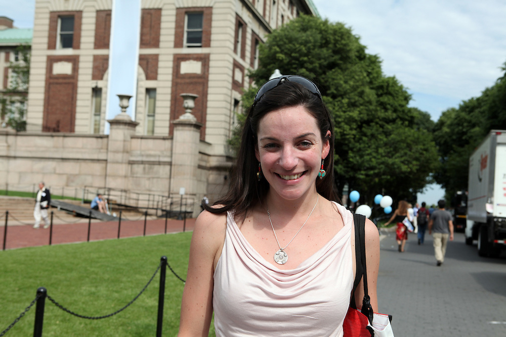"Kate Cederbaum '06..""Go to all the free lectures. I always slept through them and I regret it."""