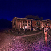Night photography at Concan, Texas.