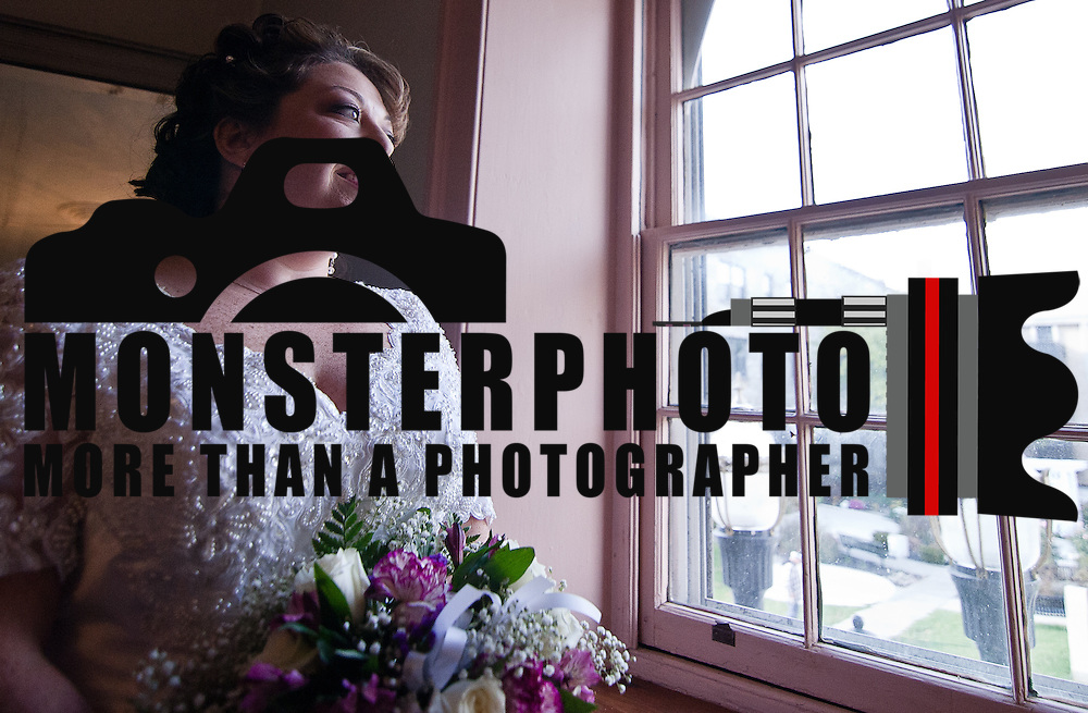 11/11/11 Elkton MD: Wedding portrait of Susan Lynn McGinnis Friday, Nov. 11, 2011 at Elkton Wedding Chapel in Elkton Maryland...Special to The News Journal/SAQUAN STIMPSON